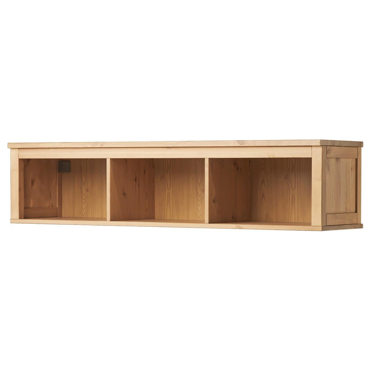 IKEA HEMNES Настенная полка, светло-коричневый  (802.972.19)