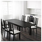IKEA BJURSTA Раздвижной стол, бронза  (301.162.64), фото 4