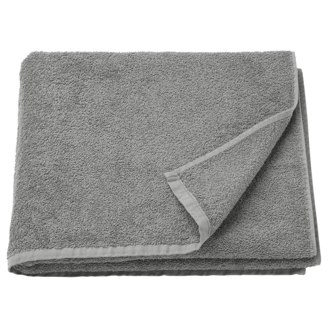IKEA HAREN Банное полотенце, средний серый  (303.370.91)
