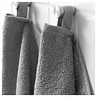 IKEA HAREN Банное полотенце, средний серый  (303.370.91), фото 6