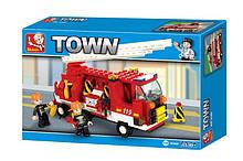 3000 Конструктор лего Sluban Пожарная машина