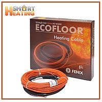 Теплый пол Fenix двухжильный кабель 49.6 метра ADSV 3-5 кв.м.