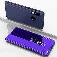 Зеркальный Чехол Книжка для Samsung Galaxy A30 2019 A305 (Фиолетовый) (000001872)