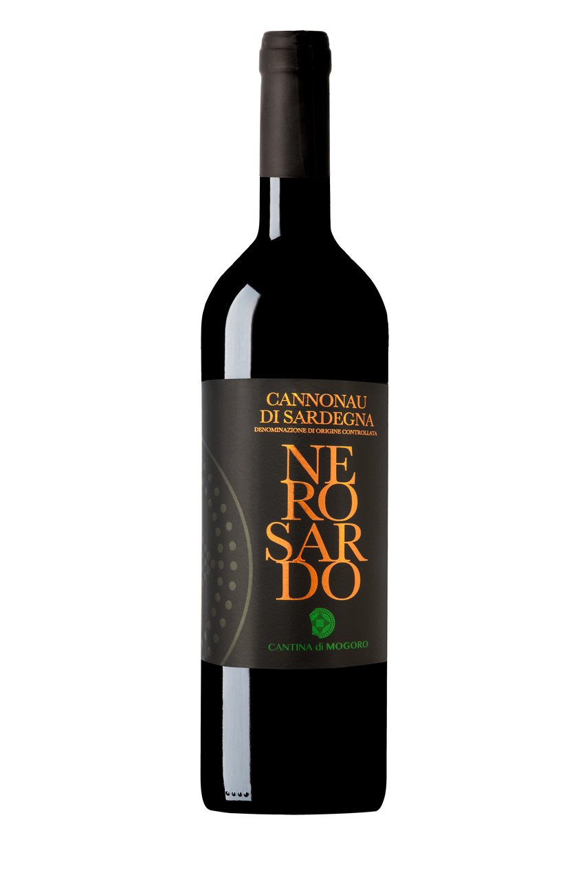 Красное сухое вино Cannonau di Sardegna D.O.C. NERO SARDO (MOGORO), 750 ml