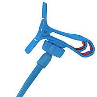 ➛Гибкий держатель Lesko 360 Blue для смартфона прикроватный вращающийся на гибкой ножке универсальный, фото 5