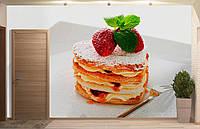 Флизелиновые Фотообои Печенье от производителя за 1 день. Любая картинка и размер. ЭКО-обои