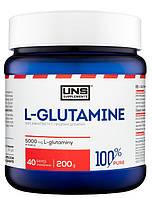Глютамин UNS - L-Glutamine (200 грамм)