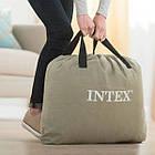 Велюр-кровать Intex 64141, размер 191*99*25 см, односпальная, с подголовником, фото 3