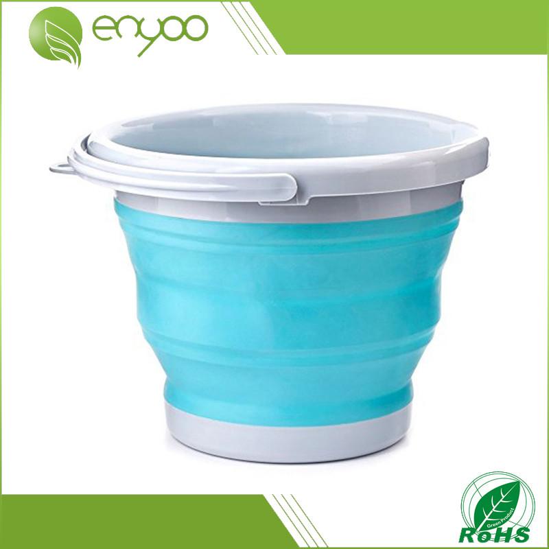 Ведро складное Collapsible Bucket, складное, туристическое, 10 литров