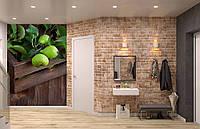 Флизелиновые Фотообои Груши от производителя за 1 день. Любая картинка и размер. ЭКО-обои