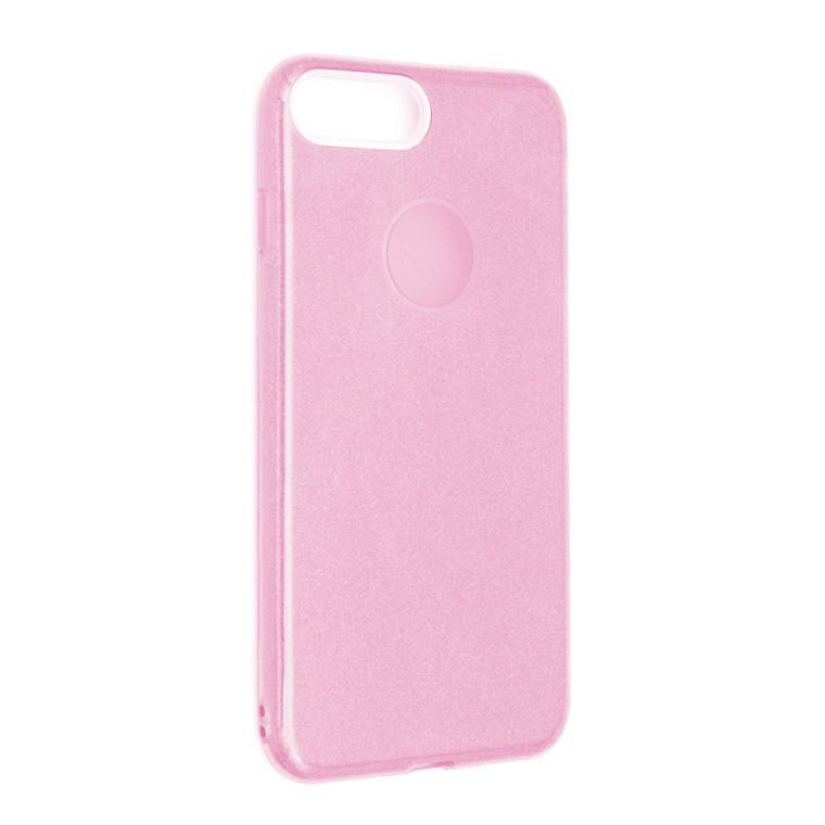 Чехол силиконовый Shine iPhone 7 Plus/8 Plus Розовый (31265)