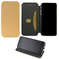 Чехол-книжка Elite Case Samsung S7 Edge G935 Золотистый (32742)
