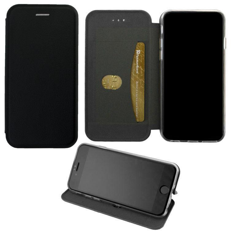 Чехол-книжка Elite Case Huawei P8 Lite Черный (32683)