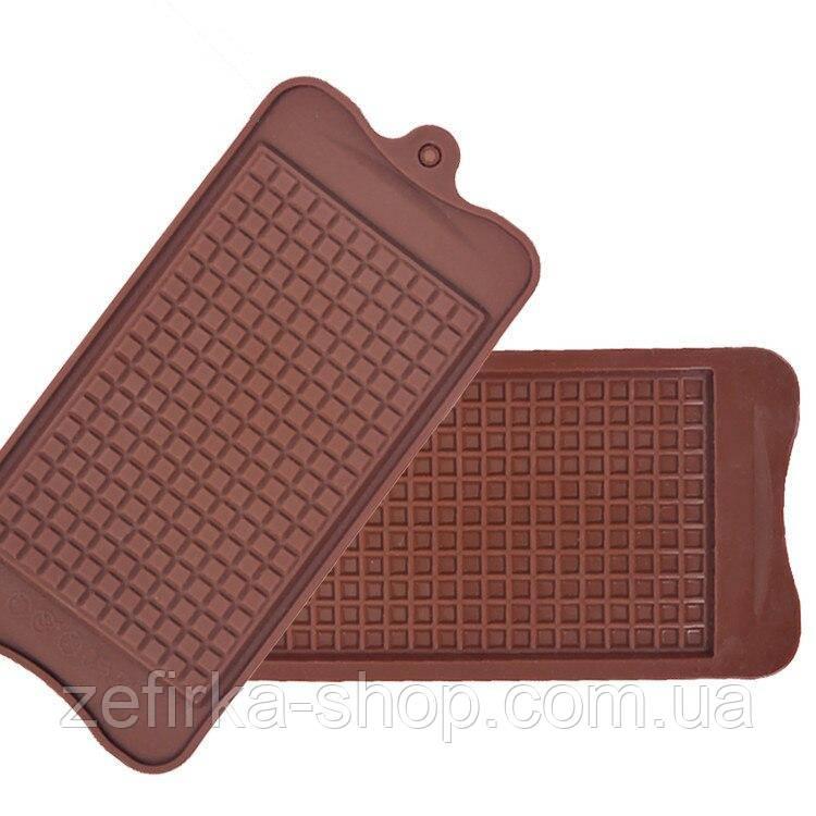 Силиконовая форма плитка - вафелька