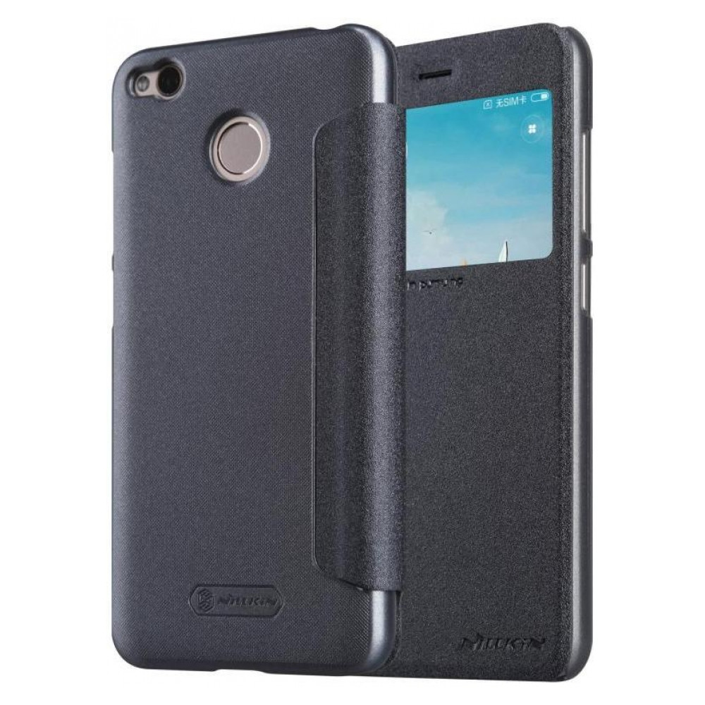 Чехол-книжка Nillkin Sparkle Xiaomi Redmi 4X Black (16072023)