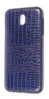Чехол Incolor Samsung J730/J7 Pro Dark Blue (1603082540), фото 1