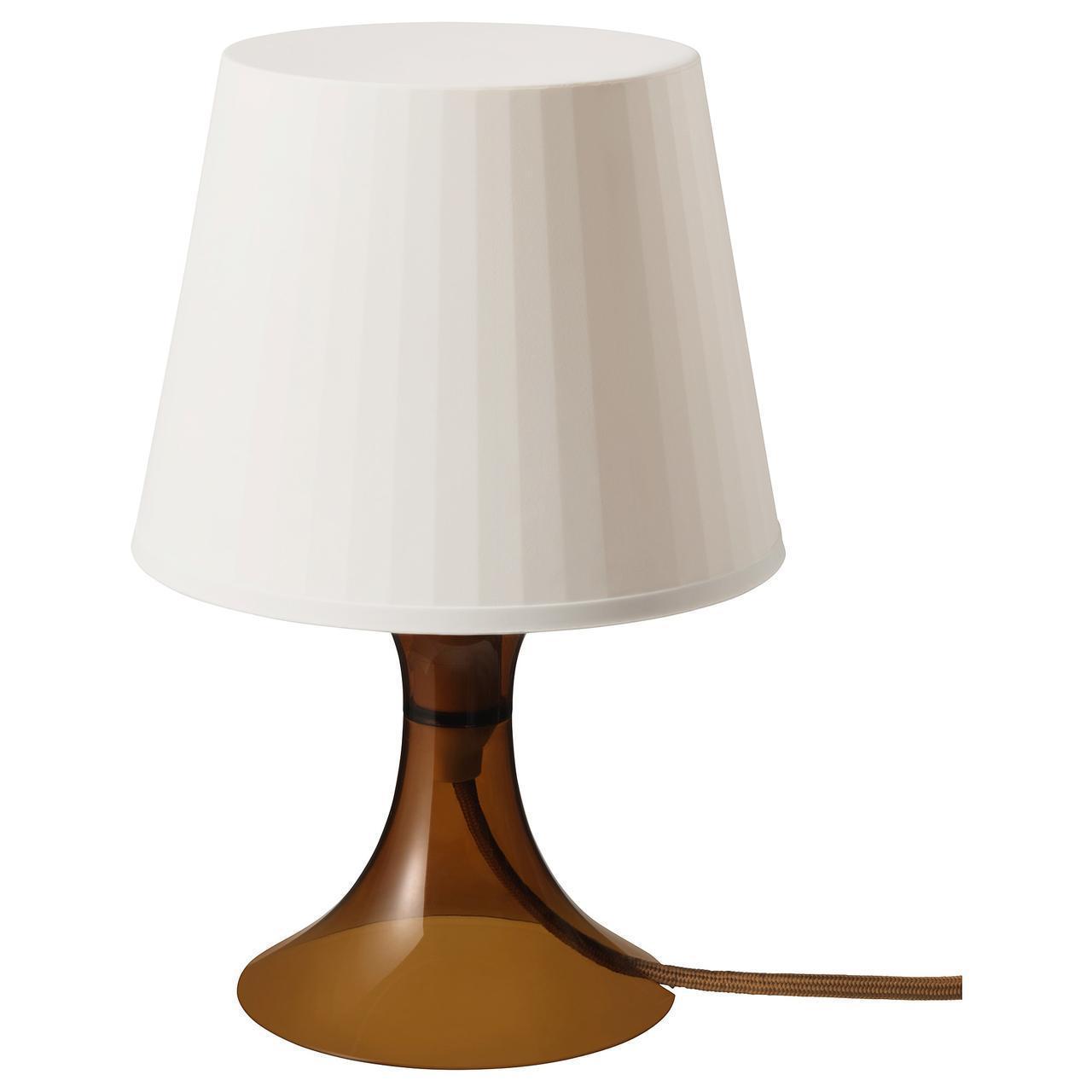 IKEA LAMPAN Наcтольная лампа, коричневый  (103.946.38)