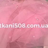 Еврофатин (бусины) Розовый
