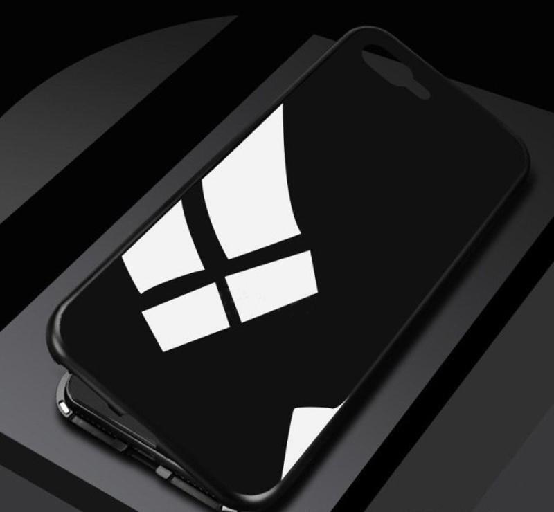 Магнитный чехол для iPhone 7 Plus Sonmmax Черный (BL021)