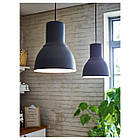 IKEA HEKTAR Подвесной светильник, темно-серый  (803.903.59), фото 4
