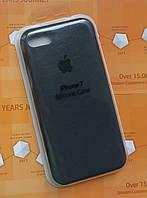 Силиконовый чехол Apple Silicone Case IPHONE 7/8 (Charcoal grey), фото 1
