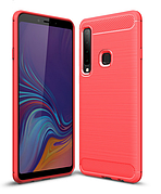 Чехол силиконовый TPU на Samsung A9 2018 / A920 красный