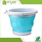 Ведро складное Collapsible Bucket, складное, туристическое, 5 литров , фото 3