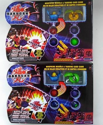 Бакуган 6-шт. 9603 микс с карточками в коробке