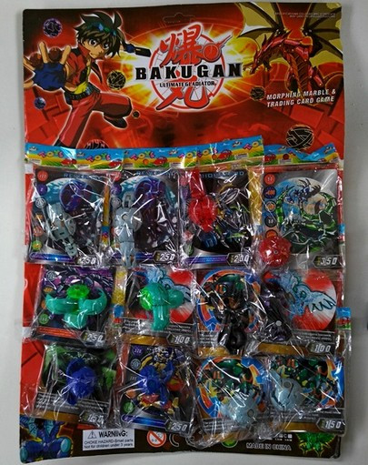 Бакуган с карточкой 5708А в пакете