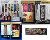 Фингерборд пальчиковый скейт ключ, в подарочной коробке