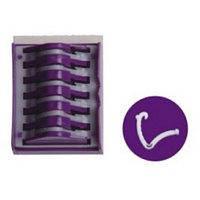 Полімерні кліпси Lapomed™, розмір L Фіолетовий