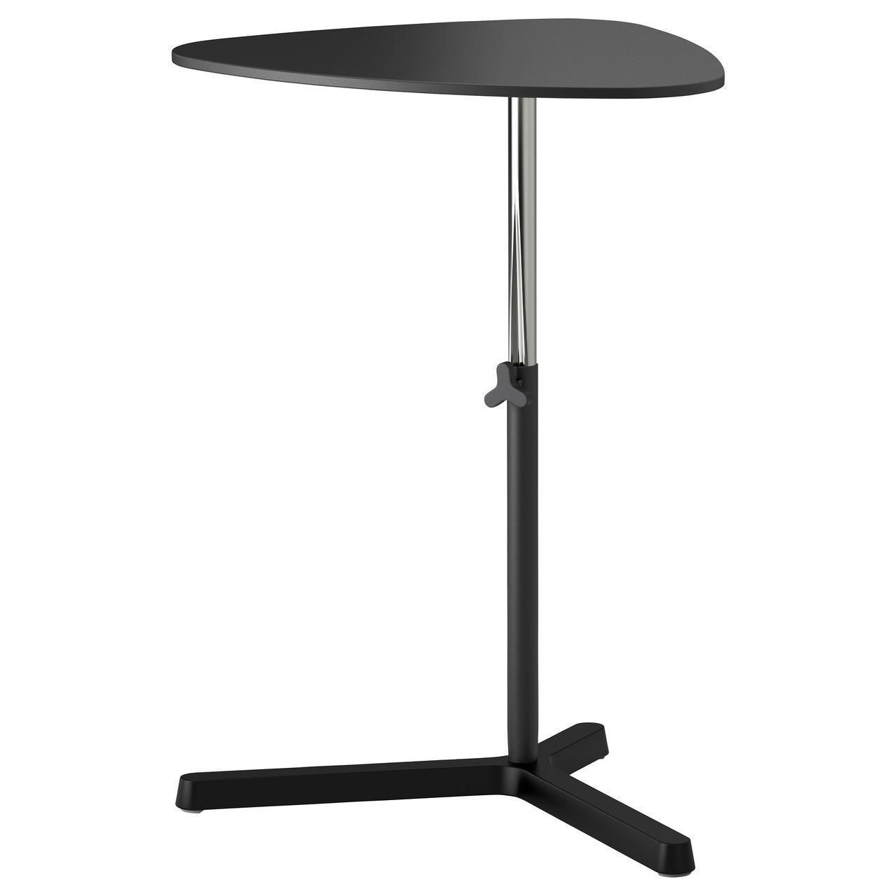 IKEA SVARTASEN Стол для ноутбука, черный  (402.421.77)