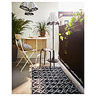 IKEA MARIUS Табурет, черный  (101.356.59), фото 4