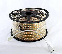 LED 5050 WW Теплый белый 100m 220V (1)