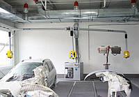 Система удаления пыли для настенной инсталяции 2-х постовая BP-TRIPLEX Filcar Италия