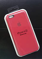 Чехол Silicone Case IPHONE 6/6s (Rose red), фото 1