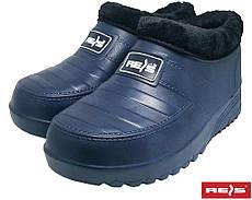 Гумові чоботи утеплені жіночі робочі REIS Польща BCFUR GB