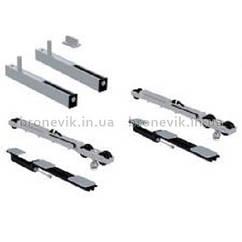 Комплект с врезными планками SF-Roller RA (зазор 3мм) с двуми Softbrake