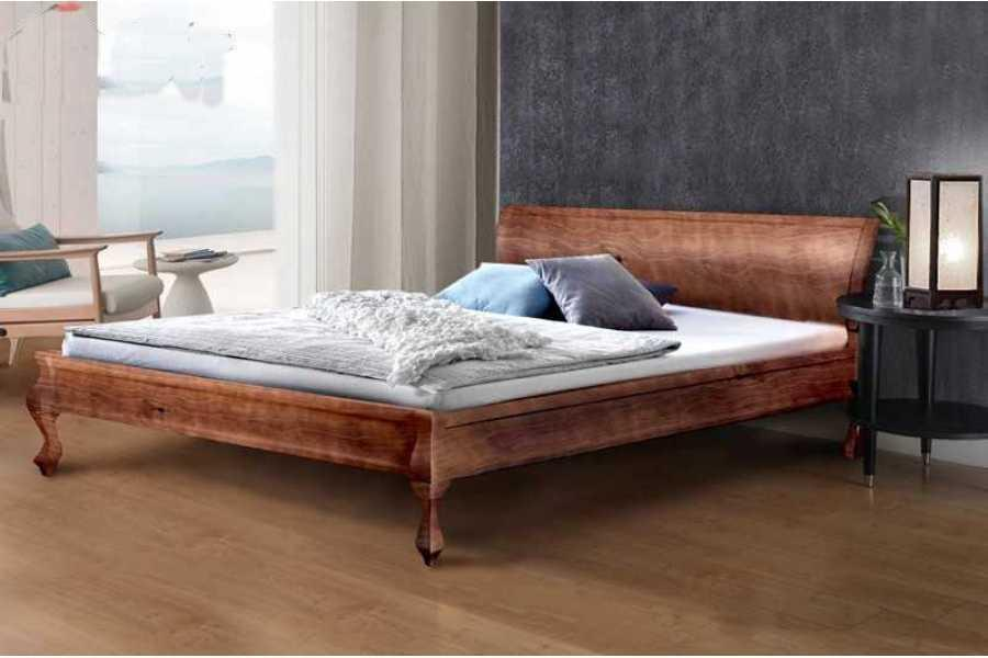 Деревянная кровать Микс Мебель Николь, 1800*2000 Орех Темный