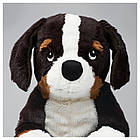 IKEA HOPPIG Мягкая игрушка, собака, высокогорье овчарка белая  (902.604.42), фото 3
