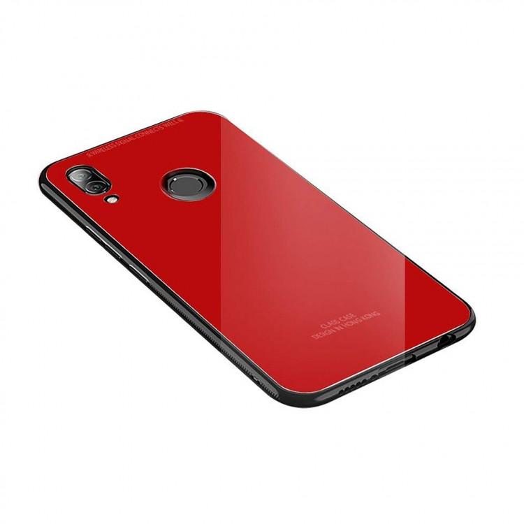 Чехол INCORE Blue Light Glass для Huawei P20 Lite Red (PC-002317)
