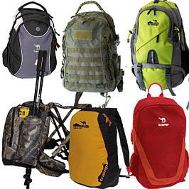 Рюкзаки туристические и городские, универсальные и рюкзаки милитари