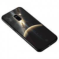 Чехол INCORE Blue Light Glass для Samsung Galaxy A6 2018 Stellar Space (PC-002369), фото 1