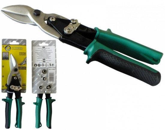 СТАЛЬ 41002 Ножиці по металу ручні СR-V 250мм праві