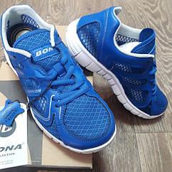 Кроссовки Bona сетка синие размер 36
