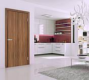 Двери Омис Глухое ПВХ Полотно+коробка+2 к-т наличников +добор 100мм, фото 3