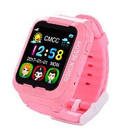 Детские смарт-часы Smart Watch К3 Розовые (14-SBW-К3-01)