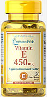 Витамин Puritan`s Pride - Vitamin E 450 мг (50 капсул)