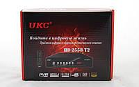 Тюнер DVB-T2 2558 METAL с поддержкой wi-fi адаптера (6 месяцев гарантии!!!)