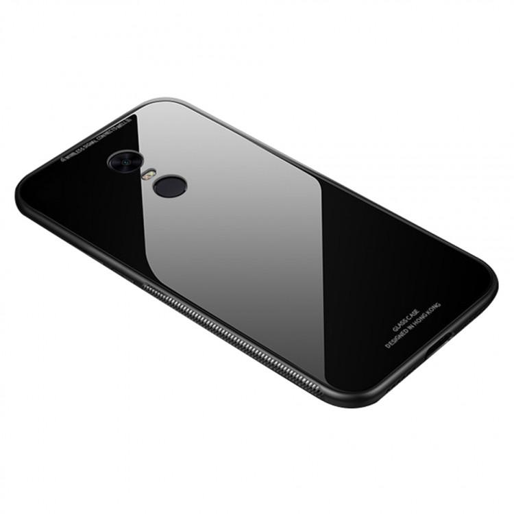 Чехол Incore Blue Light Glass для Xiaomi Redmi 5 Plus Black (PC-002482)